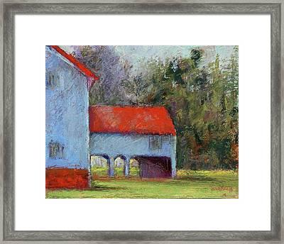 Vanderbilt Park Framed Print by Joyce A Guariglia