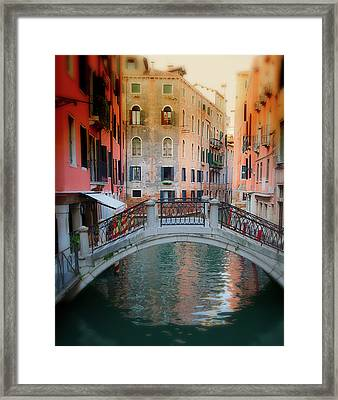 Venice Visions Framed Print by Eggers Photography