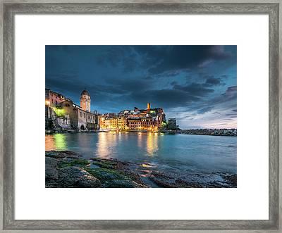 Vernazza - Cinque Terre Framed Print