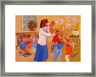 Village Nursery School Framed Print