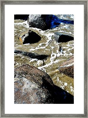 Framed Print featuring the photograph Wash Me Away by Amanda Eberly-Kudamik