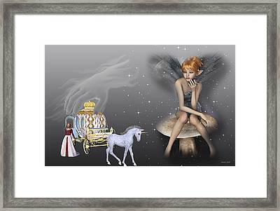 Watching Cinderella Framed Print by Morning Dew