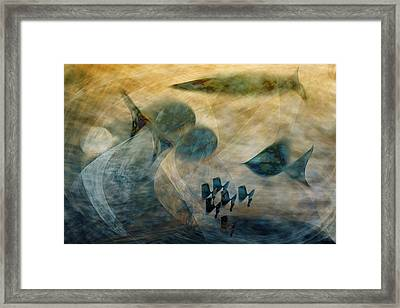 Water World One Framed Print by Gae Helton