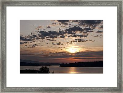 While You Were Sleeping Framed Print by Paul Godin