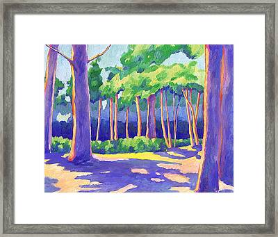 Wildcat Grove Framed Print