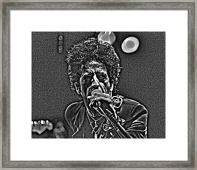 Willie Nile Framed Print