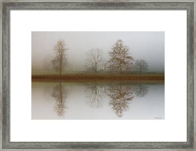 Winter Prelude Framed Print by Ron Jones