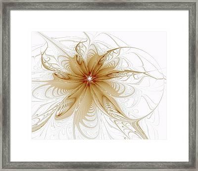 Wispy Framed Print by Amanda Moore