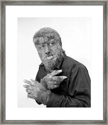 Wolfman, 1945 Framed Print
