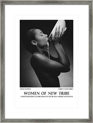 Women Of A New Tribe - Milk Maiden Framed Print by Jerry Taliaferro