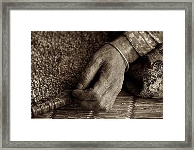 Working Woman Framed Print by Valerie Rosen