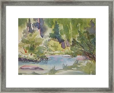 You Got Fish Framed Print by Pat Crowther