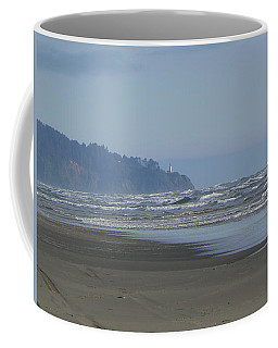Coffee Mug featuring the photograph North Head Lighthouse by Pamela Patch