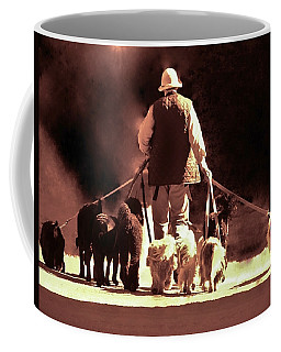 Coffee Mug featuring the photograph I Love This Job by Margaret Bobb