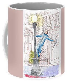 Gene Kelly In Singing In The Rain, 1952 Coffee Mug