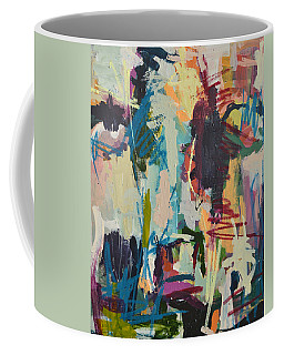 Modern Abstract Cow Painting Coffee Mug