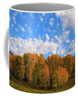 Coffee Mug featuring the photograph Aspens by Steve Stuller