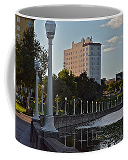 Beautiful Downtown Lakeland Coffee Mug by Carol  Bradley