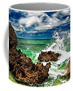Blue Meets Green Coffee Mug by Christopher Holmes