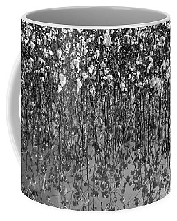 Cotton Abstract In Black And White Coffee Mug