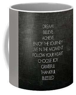 Cross Words Coffee Mug by Inspired Arts