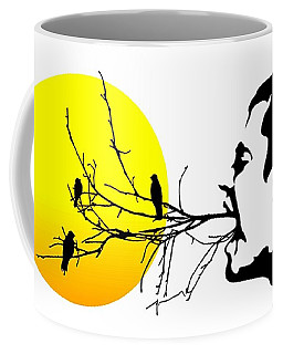 Happiness Must Be Born Within Us 2 Coffee Mug
