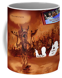 Hell Booked Up Coffee Mug