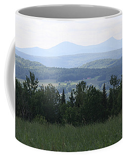 Jay Peak From Irasburg Coffee Mug by Donna Walsh