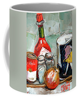 Kitchen Counter Coffee Mug by Carole Foret