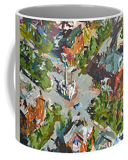 Monument Avenue In Richmond Virginia Coffee Mug