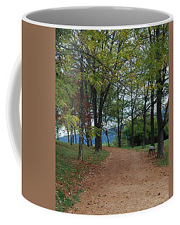Coffee Mug featuring the photograph Pathway by Eric Liller