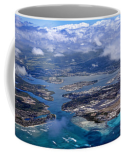 Pearl Harbor Aerial View Coffee Mug
