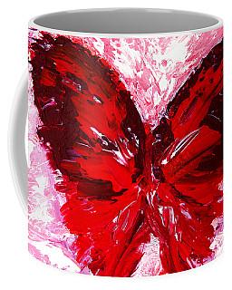 Red Butterfly Coffee Mug