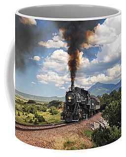 Steaming Towards La Veta Coffee Mug