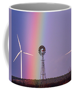 Windmill Promises Old And New Coffee Mug