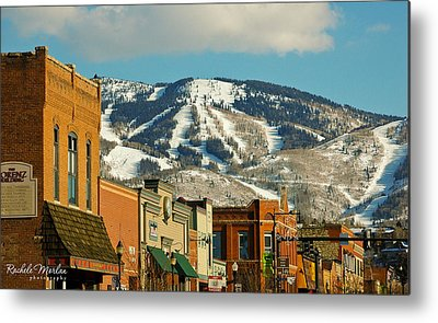 Colorado Ski Art Metal Prints