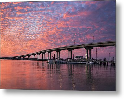 Florida Bridge Photographs Metal Prints