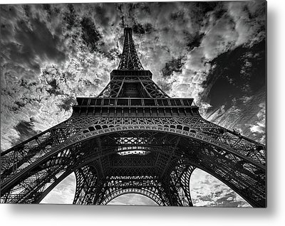 French Photographs Metal Prints