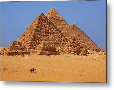 Pyramids Metal Prints