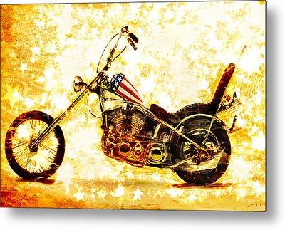Riders Metal Prints