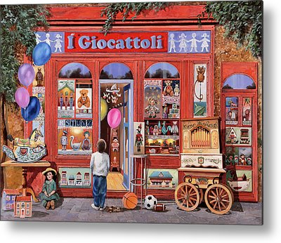 Toy Shop Metal Prints