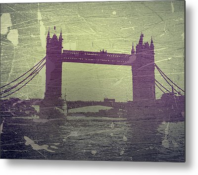 Tower Bridge Metal Prints
