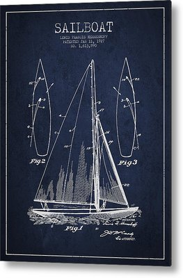 Sailboat Art Metal Prints