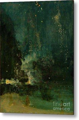 Whistler Paintings Metal Prints