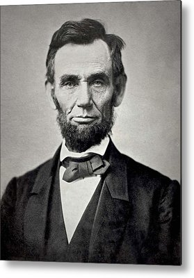 Abraham Lincoln Images Metal Prints