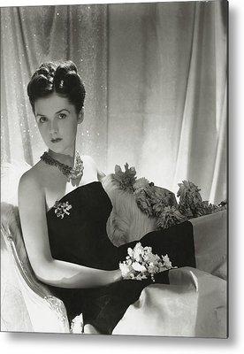 Strapless Dress Photographs Metal Prints