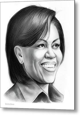 Michelle Obama Metal Prints