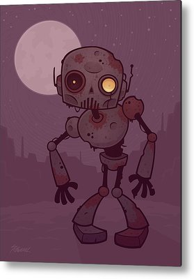 Robot Metal Prints
