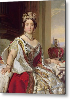Queen Victoria Metal Prints