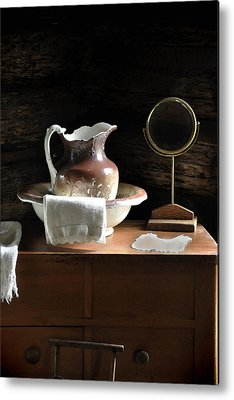 Antique Water Pitcher Metal Prints
